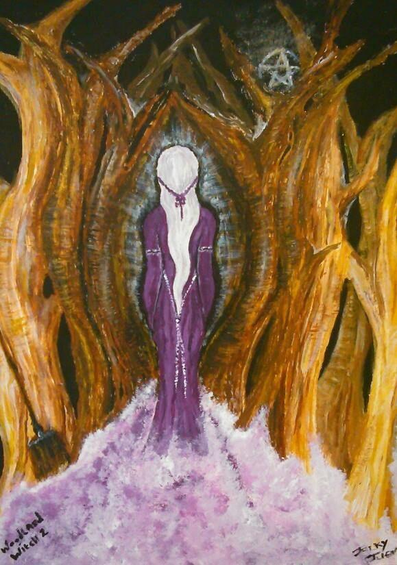 Woodland Witch by EtherealLink.deviantart.com on @deviantART