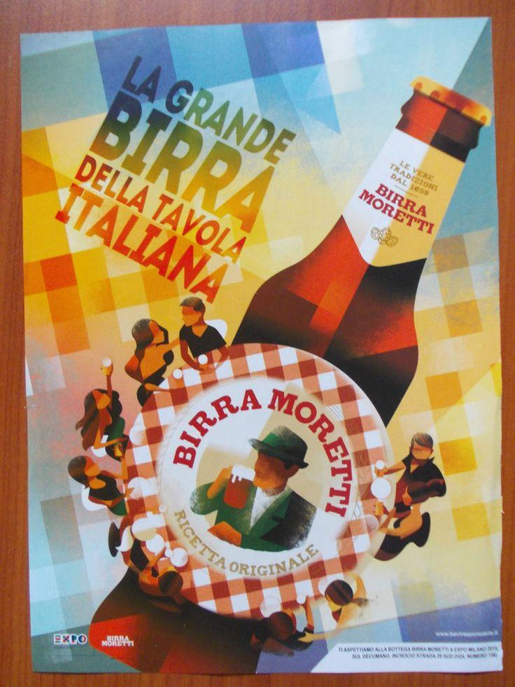 Pubblicità-Advertising BIRRA MORETTI  DX1
