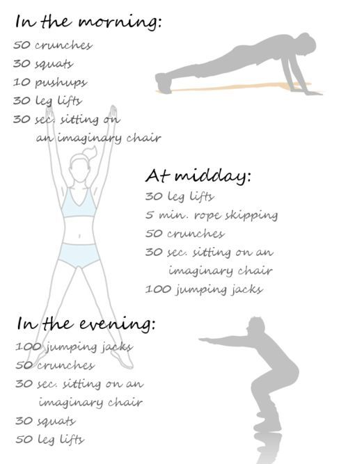 3/day work out