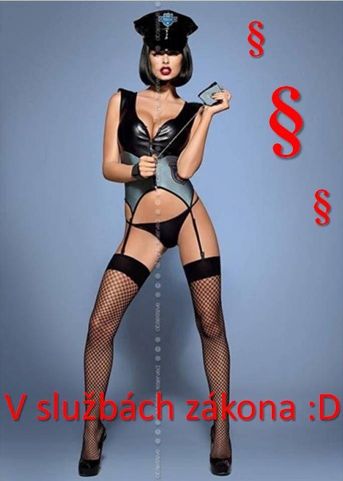 Opäť niečo pre odvážne ;) Nájdete na: http://www.lacnabielizen.sk/kostymy/37893-sexy-kostym-police-corset-obssesive.html