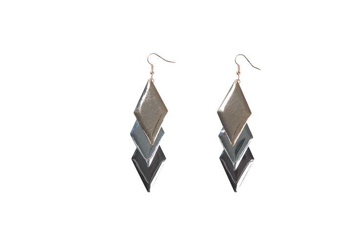 Edgars Diamond Shape Earings