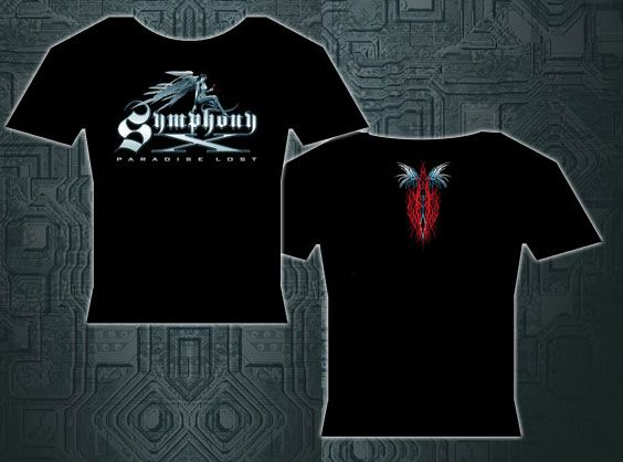 Symphony X Angel Logo Babydoll for $19.95  http://www.jsrdirect.com/merch/symphony-x/symphony-angel-logo-babydoll  #symphonyx #smx #metaltees #metalmerch #metaltshirts #bandtees #ladiestees
