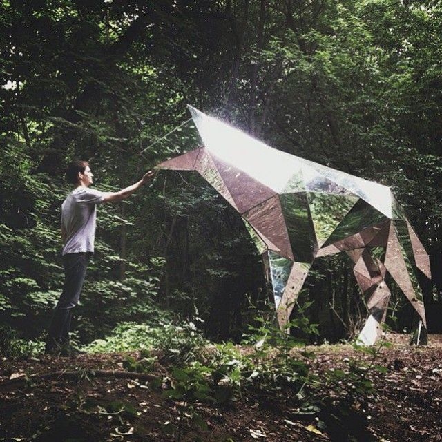 Geometric Sculptures by Platonov Pavel – Fubiz™