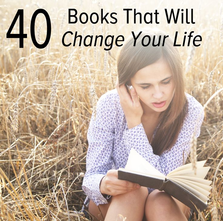 40 books that will change your life.