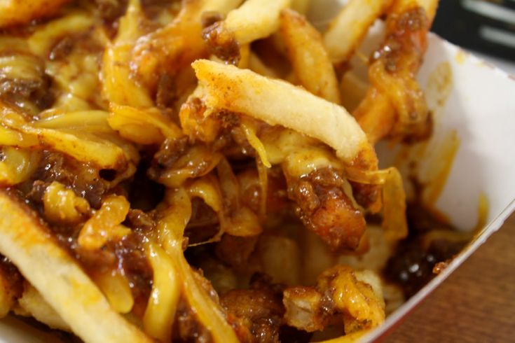 Image result for chili cheese fries