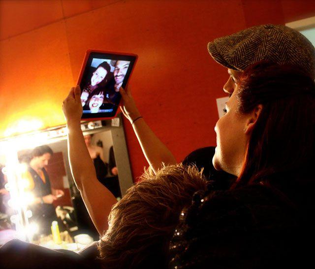 Alain Clark backstage met feestband Boston Tea Party Alain Clark #feestband #friends #vrienden #artiest #band