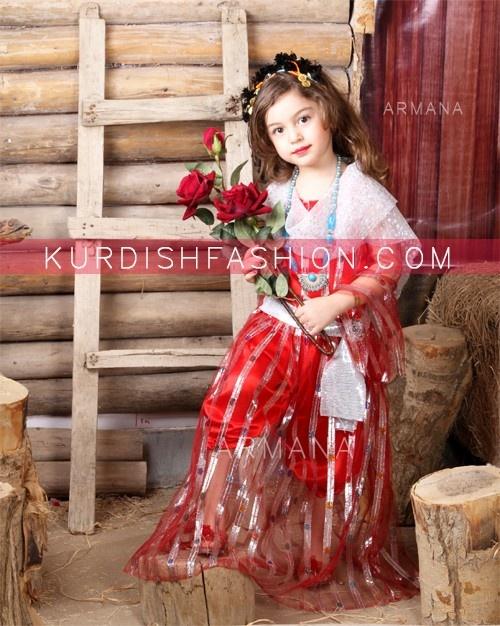traditional kurdish kids clothes