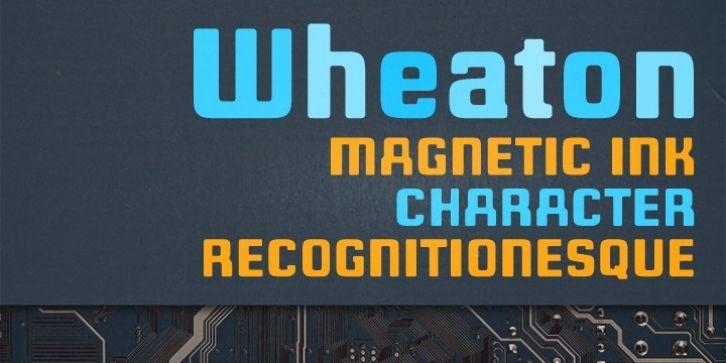 Wheaton™ font download