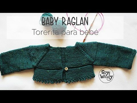 Cómo tejer una chaqueta Raglan [Top Down] en dos agujas PARTE III - YouTube