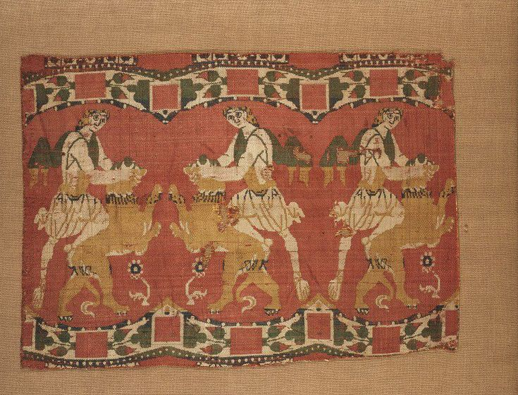 Woven silk Place of origin: Syria (possibly, made) Date: 780-900 Materials and Techniques: Silk compound twill Museum number: 8558-1863 | V&A: