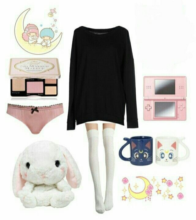 Little Space Chill Day OOTD   Made by: Unknown  App: Polyvore