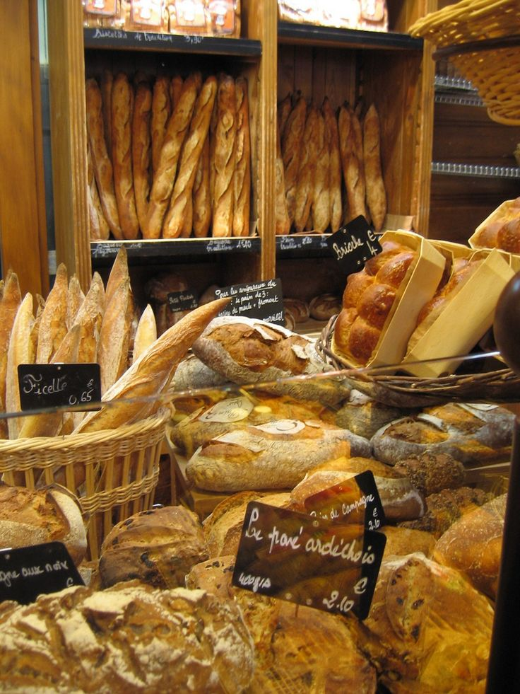 Le Grenier à Pain \by Paris by Mouth One of the best reasons to travel to France. They have a special flour they use and you can tell...bread does not taste like this anywhere else in the world!
