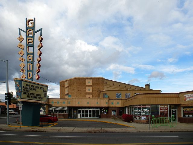 The Garland Theater opened in 1945 and was designed by Funk, Molander & Johnson. Our neighborhood theatre ~ remember the day the movies were $1.00.