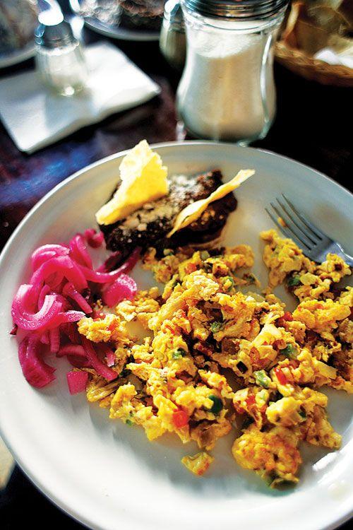 Huevos a la Mexicana (Mexican-Style Scrambled Eggs)