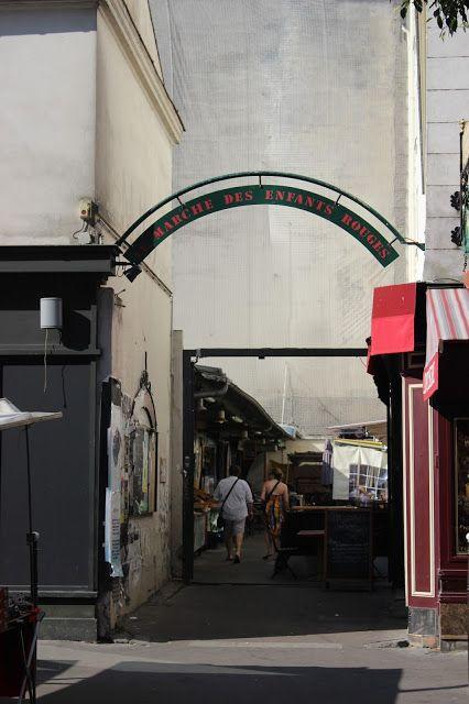Párizs legrégebbi fedett piaca - Marché des Enfants Rouges
