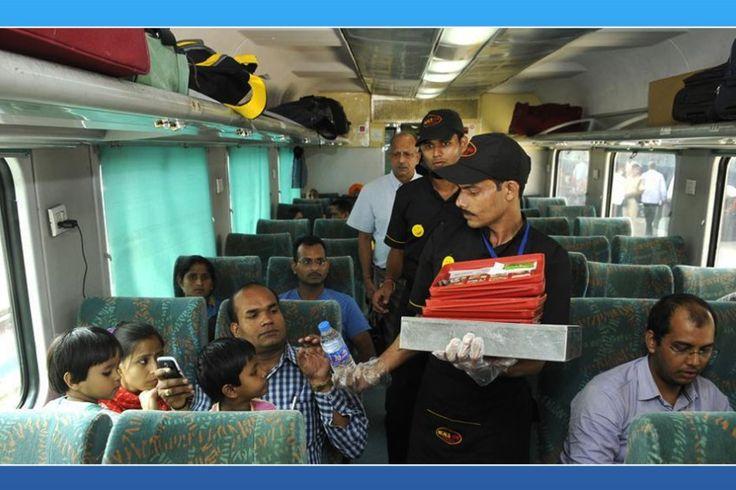 Fast food on fast trains, dominos, McDonald, fast food, Shatabdi Express, Shatabdi trains, Rajdhani trains, KFC, Switz Foods, Haldiram, Bikanerwala ad Nirulas, Shatabdi, Rajdhani, Premium Trains, Humsafar, Suresh Prabhu, Railways, indian railways, railway minister suresh prabhu, travel and food, fast foods in indian trains, irctc, irctc meals, indian railways meals, irctc food chains, irctc food order, indian railways pre book food, pre-order meal, startupstories, startup stories india…