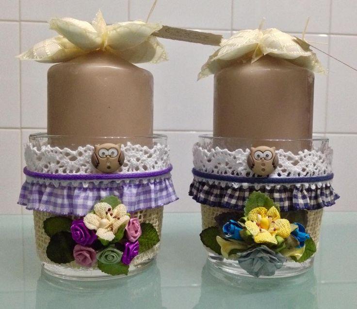 barattoli vetro decorati bomboniera