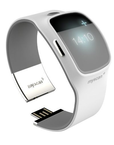 Medical Design / Watch / Smart / Body Singnals / White / Myscan / at PTUD