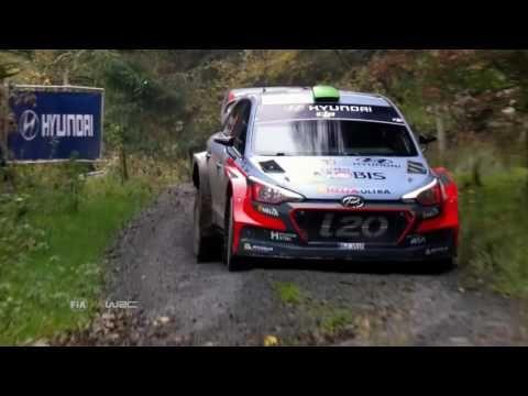 WRC Wales Rally GB 2016 - HIGHLIGHTS - YouTube