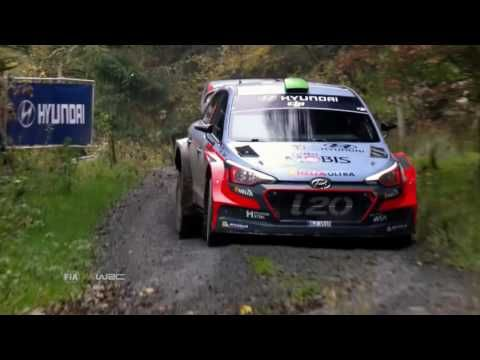 WRC Wales Rally GB 2016 - HIGHLIGHTS - YouTube