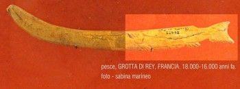 pesce, Grotta di Rey, 18.000-16.000 anni fa