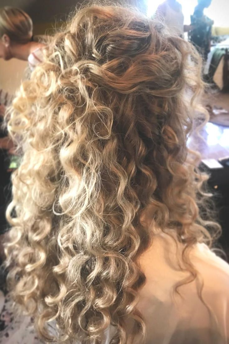 Hairstyles Curly Hair Half Up Wedding Hairstyles Agreeable ...