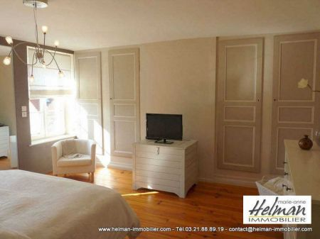 Lumbres : Lumbres maison caractère 6 pièces 200 m²