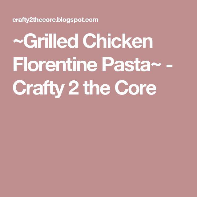 ... Pasta auf Pinterest | Huhn Florentiner Art, Pasta und Hähnchen