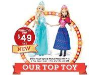 Disney Frozen Light Up Musical Magic Dolls