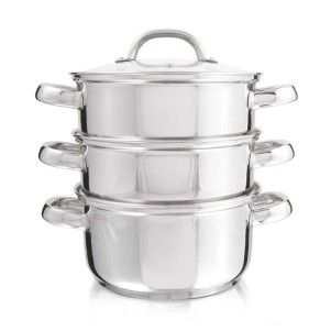 Stainless Steel 4 Piece Steamer | Woolworths.co.za