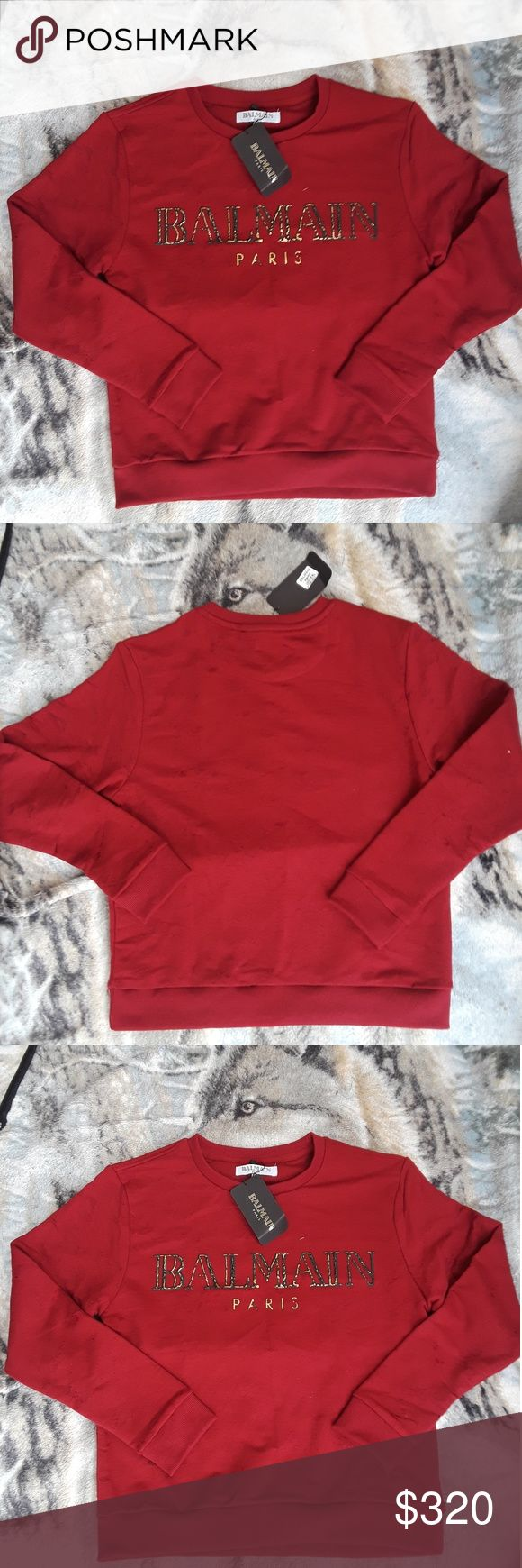Balmain sweater New arrival with original tags  Women Balmain sweaters Balmain Sweaters Crew & Scoop Necks