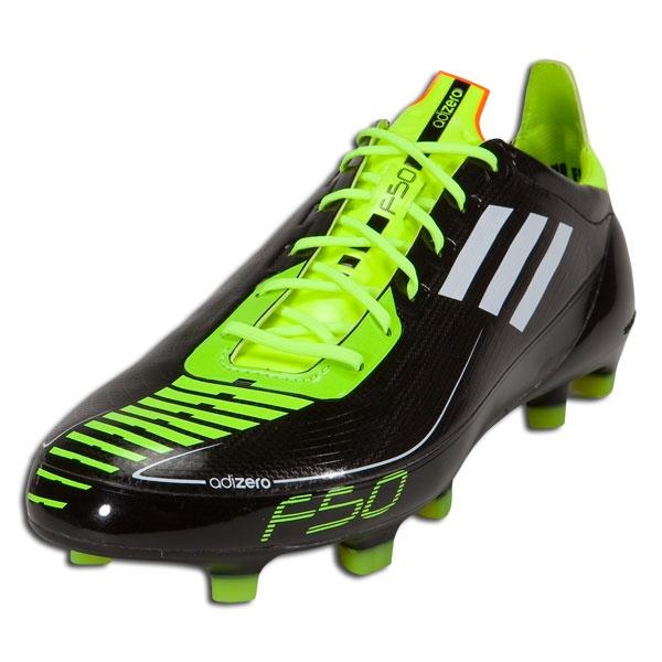 adidas F50 adizero TRX FG Soccer Shoes (Synthetic) [U44292] Black/White