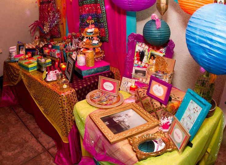 Bollywood Birthday Party Ideas   Photo 16 of 52   Catch My Party