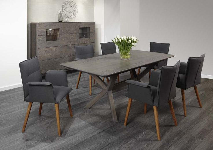 Shades of gray  - inspiration for dinning room, designed by Klose #immcologne