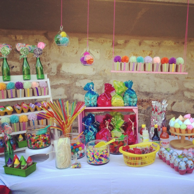candy bar fiesta infantil
