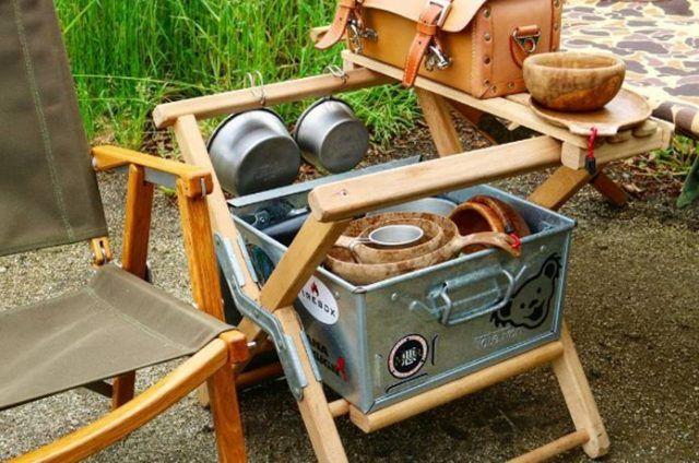 おしゃれにサイトをレイアウト!新たな万能ボックス「Tote Pan」が来る予感!|CAMP HACK