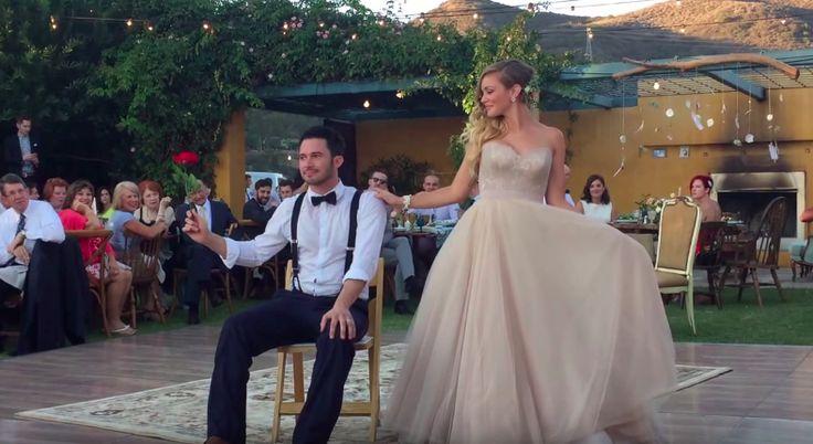 Romantickými svadobnými videami sa to na internete len tak hemží, no niektorým mladým párom sa aj tak podarí prekvapiť. Pozrite si krátky zostrih,...