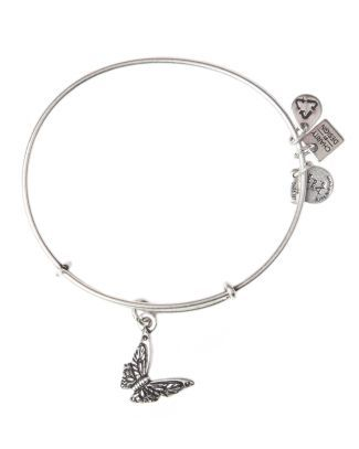 Alex and Ani Butterfly Bangle  Bloomingdale's