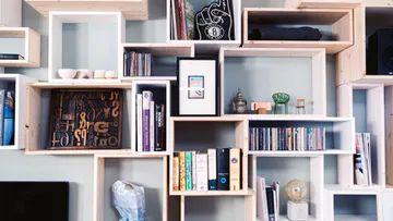 Lampe selber bauen - Ideen und Tipps | OBI | Bücherregal ...