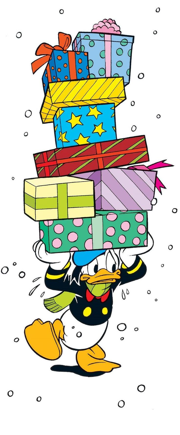 Disney Christmas ~ Donald Duck It's Beginning To Look A Lot Like Christmas