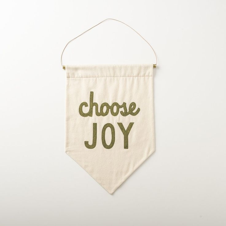 Choose joy banner