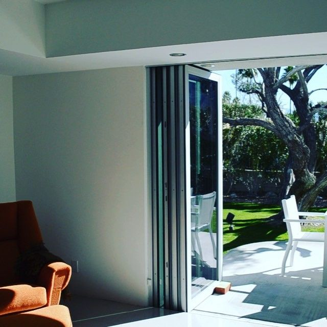 Liberace Project featuring our Panoramic Doors #panoramicliving #panoramicdoors #foldingdoors #interiordesign #Liberace & 19 best Panoramic Doors Installed images on Pinterest | Folding ...