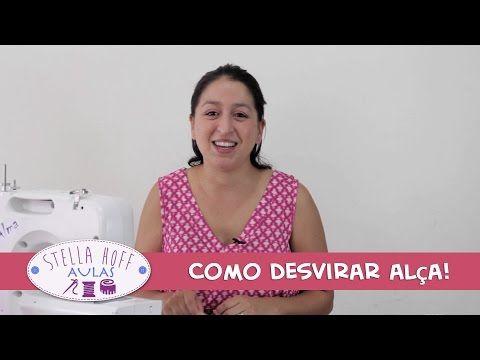 Stella Hoff Aulas - Como desvirar alça! - YouTube