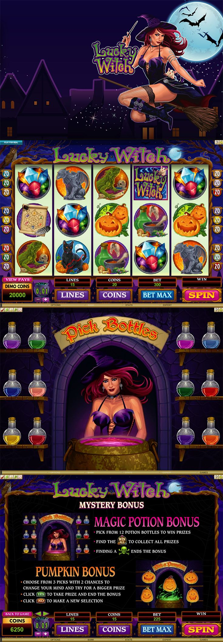 Casino bonuses are the best way to enjoy any new online casino experience and we have an exclusive bonus for our readers who sign up at Euro Palace Casino!  ---  #OnlineCasino #CasinoBonus #LuckyWitch #Witch