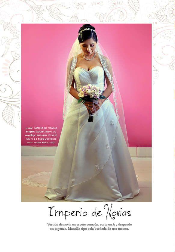 9 best Vestidos novias images on Pinterest | Bridal, Brides and Makeup