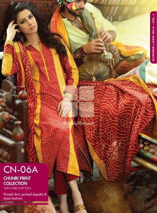 www.beautytipsmart.com wp-content uploads 2014 04 Gul-Ahmed-Chunri-Summer-Dresses-Collection-2014-For-Women.jpg
