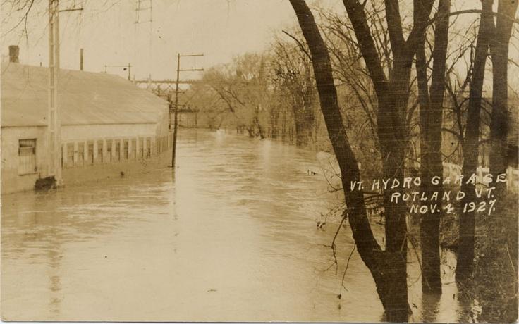 1927 Flood, Rutland, VT Rutland, VT History Pinterest