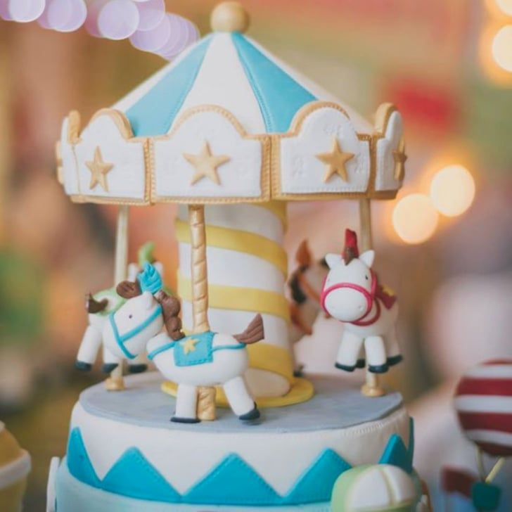 Take a Carousel Ride With This First Birthday Party Theme!