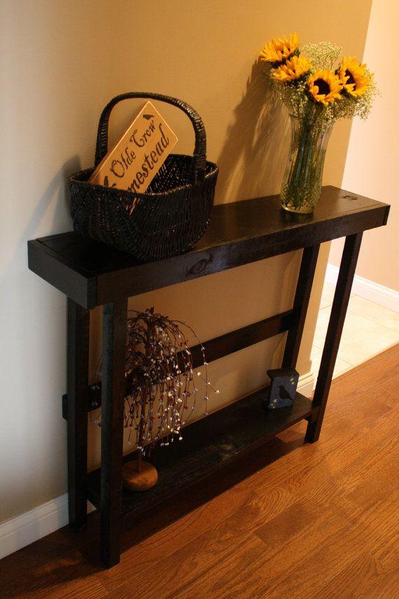 25 B Sta Black Sofa Table Id Erna P Pinterest