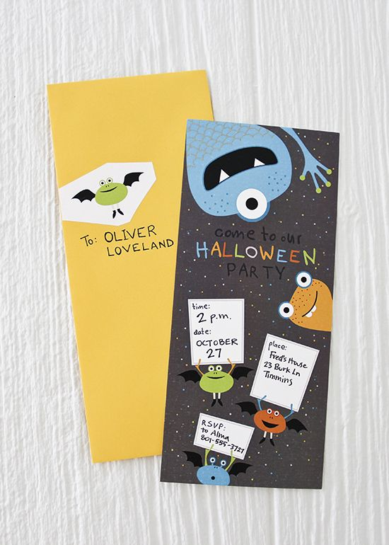 FREE printable monster party invitation {one charming party}